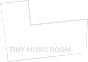 Tiny Music Room Logo 3 blanco